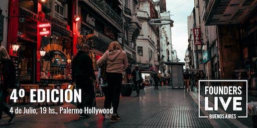Founders Live Buenos Aires - 4ta Edicion