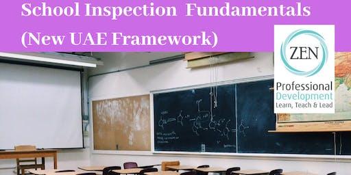 School Inspection ( New UAE Framework)