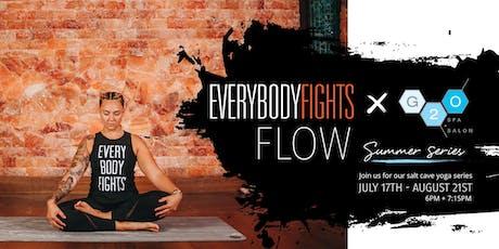 Everybodyfights x G2O FLOW Summer Series tickets