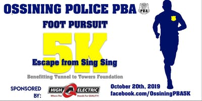 Ossining PBA  Foot Pursuit 5K: Escape from Sing Sing
