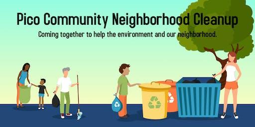 2019 Santa Monica Pico Community Neighborhood Cleanup!