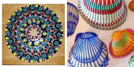 Mandala & Shell Painting tickets