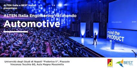 ALTEN Italia Engineering nel mondo Automotive biglietti