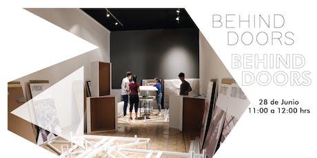 Behind doors | Montaje en el Museo Tec entradas