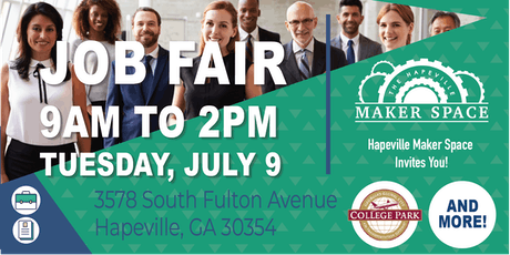 JOB FAIR at The Hapeville Maker Space tickets