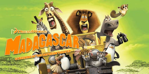 Summer Family Film Series: Madagascar