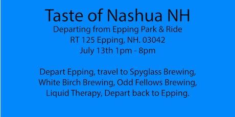Beer Tour Nashua NH, Spyglass, White Birch, Odd Fellows, Liquid Therapy tickets
