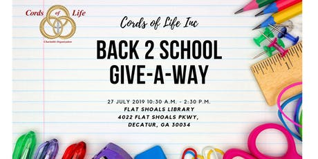 BACK 2 SCHOOL GIVE-A-WAY tickets
