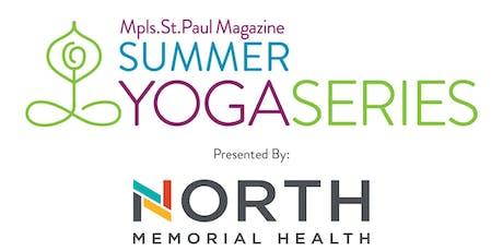 Summer Yoga Series - August tickets