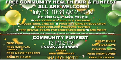 Community Health Fair & FunFest tickets
