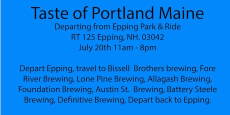 Beer Tour - Portland Maine. Bissell Brothers, Fore River, Lone Pine +5 more tickets