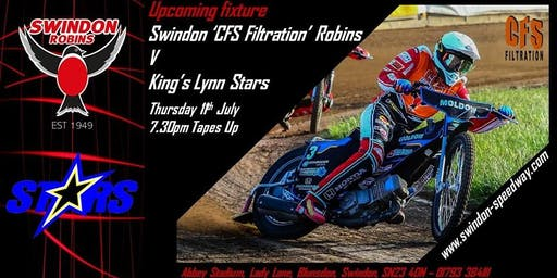 Swindon Robins V Kings Lynn Stars