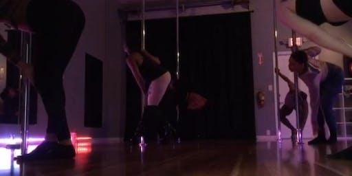 Intro To Pole Dance in Kennesaw.  Pole Dance Class Marietta