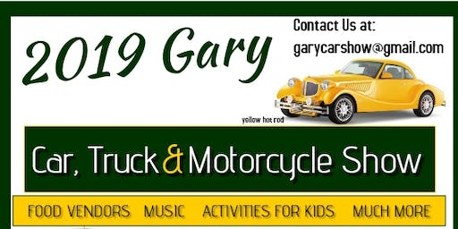 2019 Gary Car, Truck and Motorcycle Show