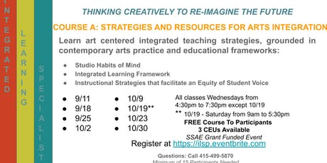 Integrated Learning Specialist Program tickets