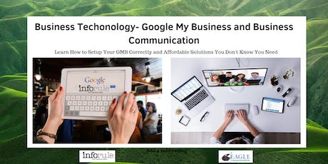 LUNCH & LEARN Productivity Through Technology & The New Google My Business  tickets