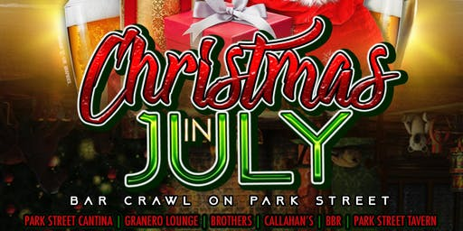 Christmas in July Bar Crawl