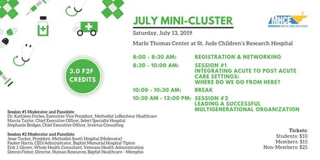 MHCE July Mini-Cluster Panel Event tickets