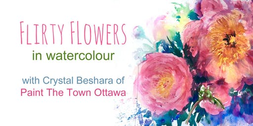 Flirty Florals with Crystal Beshara: Vase of Peonies
