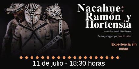 Nacahue: Ramón y Hortensia entradas