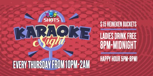 Karaoke Night @ SHOTS Wynwood
