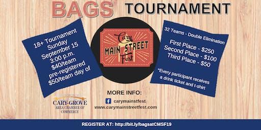 Cary Main Street Fest Bags Tournament