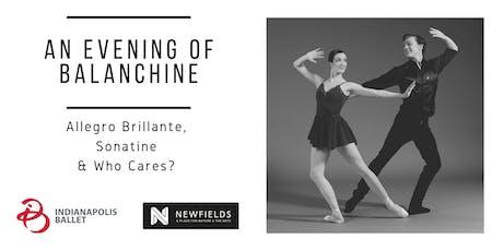 An Evening of Balanchine: Allegro Brillante, Sonatine & Who Cares? tickets