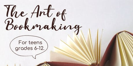 The Art of Bookmaking tickets