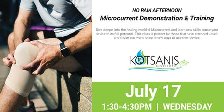 Microcurrent Training and Demo tickets