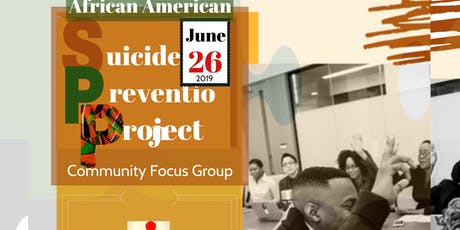 African American Suicide Prevention Project tickets