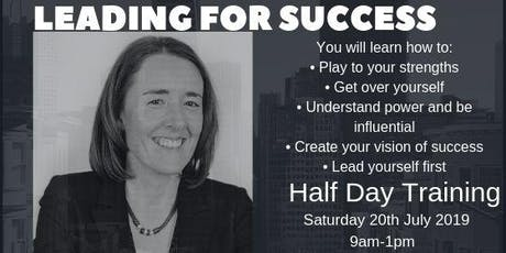 Leading for Success - Half Day Training - Melbourne tickets