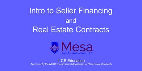 Intro to Seller Financing and Real Estate Contracts tickets