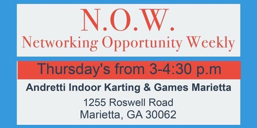 """Networking Opportunity Weekly """"N.O.W."""""""