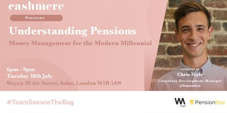 Cashmere App Presents... Understanding Pensions with PensionBee tickets