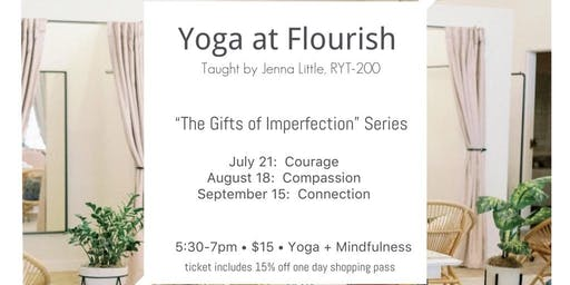 Yoga at The Flourish Market Summer Series