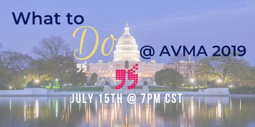 What is happening at the AVMA National Conference