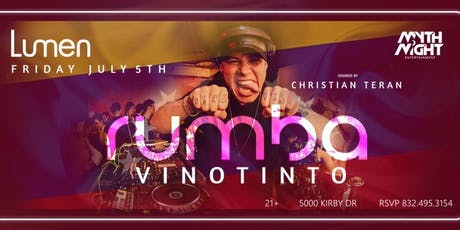 Rumba Vinotinto by Mythnight tickets