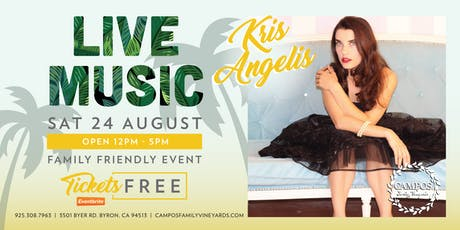 Live Music - Kris Angelis tickets