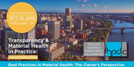 Best Practices in Material Health: The Owner's Perspective tickets
