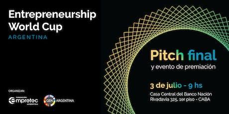 Pitch Final - Entrepreneurship World Cup Argentina entradas