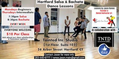 Hartford Salsa and Bachata Dance Classes tickets
