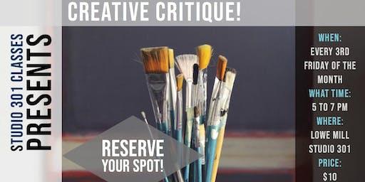 Creative Critiques!