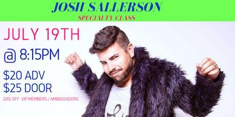 Dance 411 Presents: Josh Sallerson Specialty Class tickets