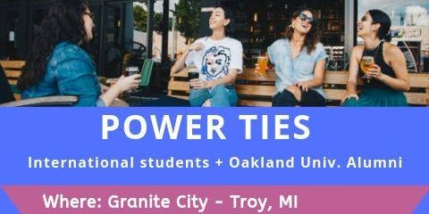 Power ties: Networking with international students