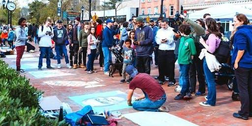 4th Annual New Haven Chalk Art Festival