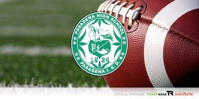 Pasadena Varsity Football Season Ticket 2019