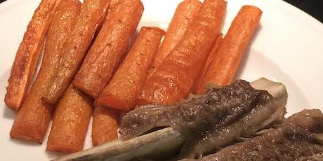 Vegetable Preparation Techniques: Roast, Sauté, Steam tickets