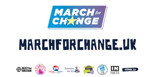"""Tech For UK at """"March For Change"""""""