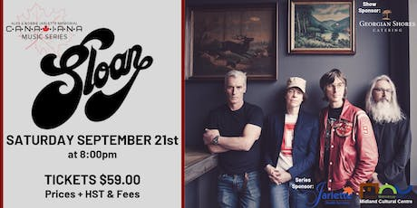 Sloan - Canadiana Music Series tickets