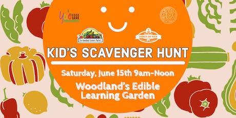 Children's Garden Scavenger Hunt tickets